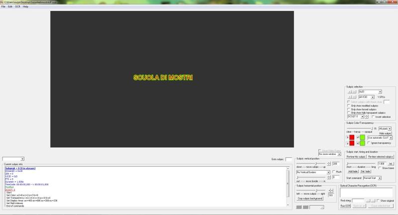 Scuola di mostri subtitle